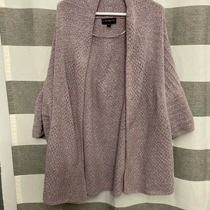 Lane Bryant pink sweater